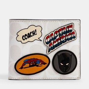 Coach x Marvel 3-in-1  Wallet
